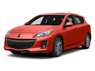 Velocity Red Mica 2013 Mazda Mazda3 Pictures Mazda3 Wagon 5D i Touring I4 photos front view