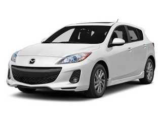 Crystal White Pearl Mica 2013 Mazda Mazda3 Pictures Mazda3 Wagon 5D i Touring I4 photos front view