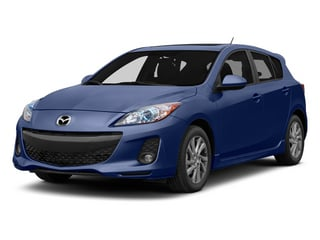 Indigo Lights Mica 2013 Mazda Mazda3 Pictures Mazda3 Wagon 5D i Touring I4 photos front view