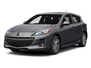 Graphite Mica 2013 Mazda Mazda3 Pictures Mazda3 Wagon 5D i Touring I4 photos front view