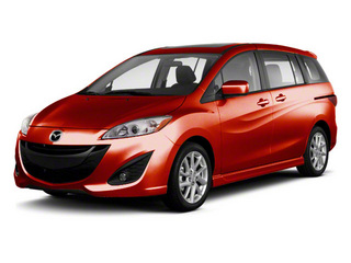 Zeal Red Mica 2013 Mazda Mazda5 Pictures Mazda5 Wagon 5D GT I4 photos front view