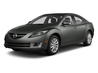 Polished Slate 2013 Mazda Mazda6 Pictures Mazda6 Sedan 4D i Touring Plus photos front view