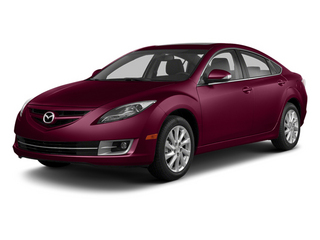Fireglow Red 2013 Mazda Mazda6 Pictures Mazda6 Sedan 4D i Touring Plus photos front view