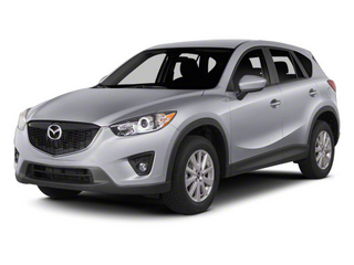 Liquid Silver Metallic 2013 Mazda CX-5 Pictures CX-5 Utility 4D Touring AWD photos front view