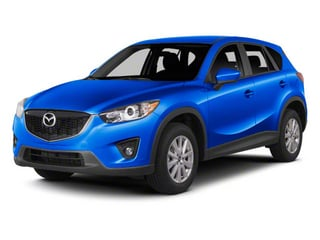 Sky Blue Mica 2013 Mazda CX-5 Pictures CX-5 Utility 4D Touring AWD photos front view