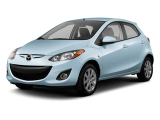 Clear Water Blue Metallic 2013 Mazda Mazda2 Pictures Mazda2 Hatchback 5D Touring I4 photos front view
