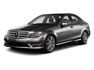 Black 2013 Mercedes-Benz C-Class Pictures C-Class Sport Sedan 4D C250 photos front view