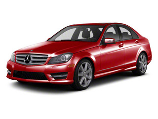 Mars Red 2013 Mercedes-Benz C-Class Pictures C-Class Sport Sedan 4D C250 photos front view