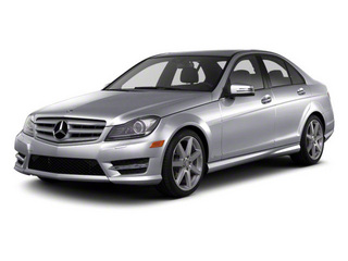 Steel Grey Metallic 2013 Mercedes-Benz C-Class Pictures C-Class Sport Sedan 4D C250 photos front view