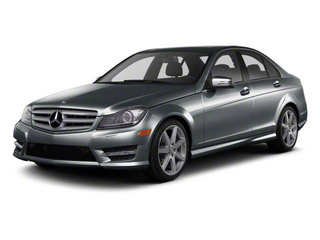 Sapphire Grey Metallic 2013 Mercedes-Benz C-Class Pictures C-Class Sport Sedan 4D C250 photos front view