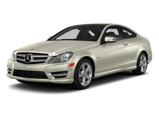 Diamond White Metallic 2013 Mercedes-Benz C-Class Pictures C-Class Coupe 2D C250 photos front view