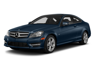 Lunar Blue Metallic 2013 Mercedes-Benz C-Class Pictures C-Class Coupe 2D C250 photos front view