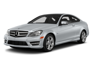 Diamond Silver Metallic 2013 Mercedes-Benz C-Class Pictures C-Class Coupe 2D C250 photos front view