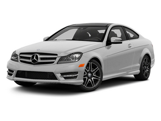Iridium Silver Metallic 2013 Mercedes-Benz C-Class Pictures C-Class Coupe 2D C350 AWD photos front view