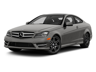 Palladium Silver Metallic 2013 Mercedes-Benz C-Class Pictures C-Class Coupe 2D C350 AWD photos front view