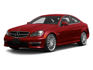 Mars Red 2013 Mercedes-Benz C-Class Pictures C-Class Coupe 2D C63 AMG photos front view