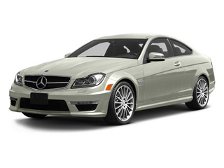 Iridium Silver Metallic 2013 Mercedes-Benz C-Class Pictures C-Class Coupe 2D C63 AMG photos front view