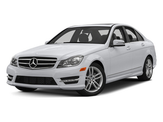 Polar White 2013 Mercedes-Benz C-Class Pictures C-Class Sedan 4D C250 photos front view