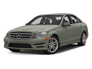 Palladium Silver Metallic 2013 Mercedes-Benz C-Class Pictures C-Class Sedan 4D C250 photos front view