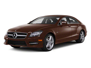 Cuprite Brown Metallic 2013 Mercedes-Benz CLS-Class Pictures CLS-Class Sedan 4D CLS550 AWD photos front view