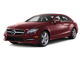 Storm Red Metallic 2013 Mercedes-Benz CLS-Class Pictures CLS-Class Sedan 4D CLS550 AWD photos front view