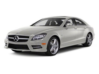Iridium Silver Metallic 2013 Mercedes-Benz CLS-Class Pictures CLS-Class Sedan 4D CLS550 AWD photos front view