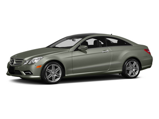 Palladium Silver Metallic 2013 Mercedes-Benz E-Class Pictures E-Class Coupe 2D E550 photos front view