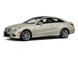 Diamond White Metallic 2013 Mercedes-Benz E-Class Pictures E-Class Coupe 2D E550 photos front view