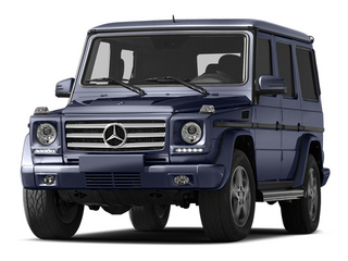 designo Mystic Blue Metallic 2013 Mercedes-Benz G-Class Pictures G-Class 4 Door Utility 4Matic photos front view