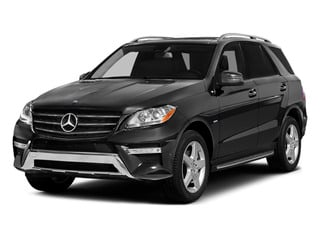 Steel Grey Metallic 2013 Mercedes-Benz M-Class Pictures M-Class Utility 4D ML550 AWD photos front view