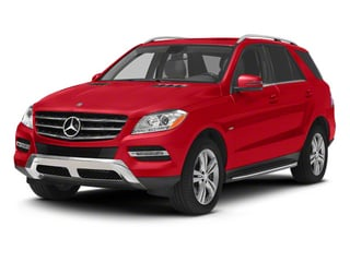 Cinnabar Red Metallic 2013 Mercedes-Benz M-Class Pictures M-Class Utility 4D ML350 BlueTEC AWD photos front view