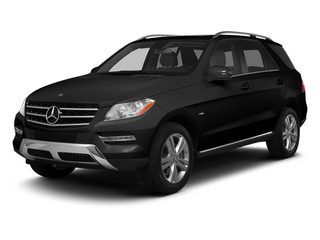 Obsidian Black Metallic 2013 Mercedes-Benz M-Class Pictures M-Class Utility 4D ML350 AWD photos front view