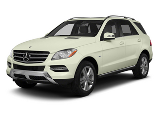 Arctic White 2013 Mercedes-Benz M-Class Pictures M-Class Utility 4D ML350 AWD photos front view