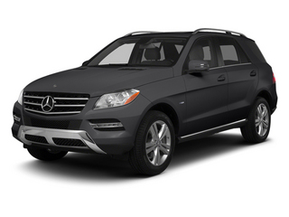 Steel Grey Metallic 2013 Mercedes-Benz M-Class Pictures M-Class Utility 4D ML350 2WD photos front view