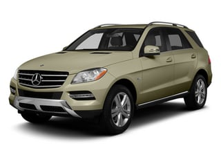 Pearl Beige Metallic 2013 Mercedes-Benz M-Class Pictures M-Class Utility 4D ML350 2WD photos front view
