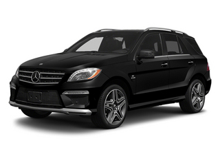 Obsidian Black Metallic 2013 Mercedes-Benz M-Class Pictures M-Class Utility 4D ML63 AMG AWD photos front view