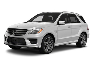 Arctic White 2013 Mercedes-Benz M-Class Pictures M-Class Utility 4D ML63 AMG AWD photos front view
