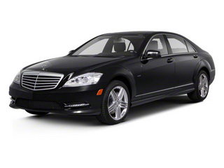 Black 2013 Mercedes-Benz S-Class Pictures S-Class Sedan 4D S550 photos front view