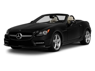 Obsidian Black Metallic 2013 Mercedes-Benz SLK-Class Pictures SLK-Class Roadster 2D SLK350 photos front view