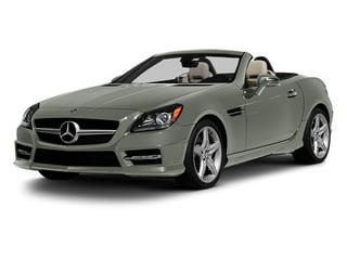 Palladium Silver Metallic 2013 Mercedes-Benz SLK-Class Pictures SLK-Class Roadster 2D SLK350 photos front view