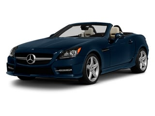 Lunar Blue Metallic 2013 Mercedes-Benz SLK-Class Pictures SLK-Class Roadster 2D SLK350 photos front view