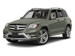 Palladium Silver Metallic 2013 Mercedes-Benz GLK-Class Pictures GLK-Class Utility 4D GLK350 2WD photos front view