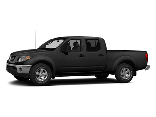 Super Black 2013 Nissan Frontier Pictures Frontier Crew Cab S 4WD photos front view