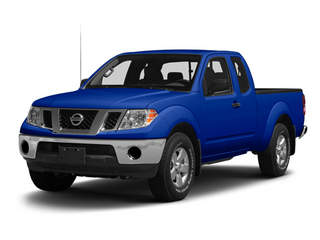 Metallic Blue 2013 Nissan Frontier Pictures Frontier King Cab SV 2WD photos front view