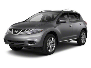 Gun Metallic 2013 Nissan Murano Pictures Murano Utility 4D SL 2WD V6 photos front view