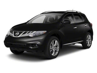 Super Black 2013 Nissan Murano Pictures Murano Utility 4D SL 2WD V6 photos front view
