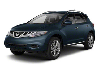 Graphite Blue 2013 Nissan Murano Pictures Murano Utility 4D SL 2WD V6 photos front view