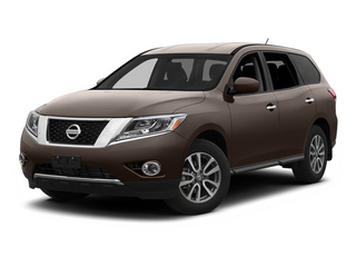 Mocha Stone 2013 Nissan Pathfinder Pictures Pathfinder Utility 4D SL 2WD photos front view