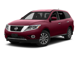 Cayenne Red 2013 Nissan Pathfinder Pictures Pathfinder Utility 4D SL 2WD photos front view