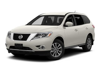 Moonlight White 2013 Nissan Pathfinder Pictures Pathfinder Utility 4D SL 2WD photos front view